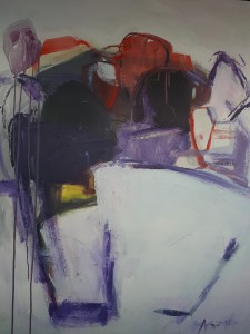 Acryl auf Leinwand, 120x100cm